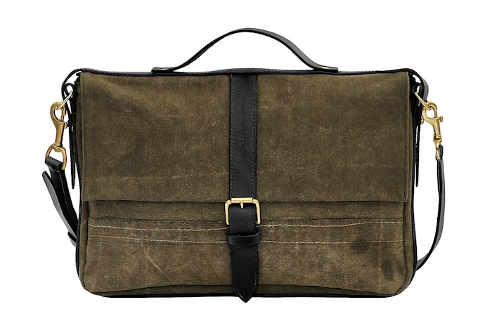 Laptop väska – Svart läder