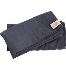 Tygservett 40x40 grå, 2-pack