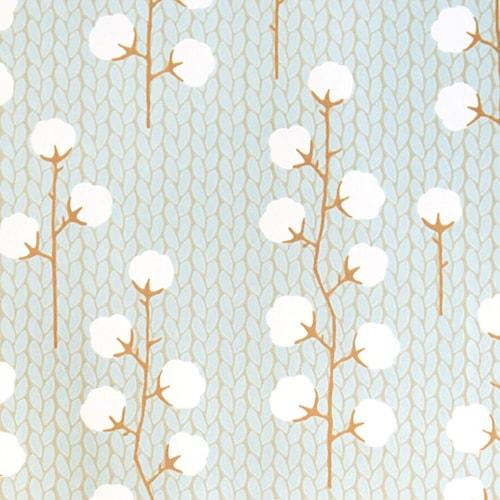 Sweet cotton tapet – Turkos
