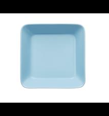Teema tallrik 16x16 cm ljusblå