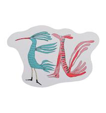 Linnut kertovat- leikkuulauta 30 x 20 cm