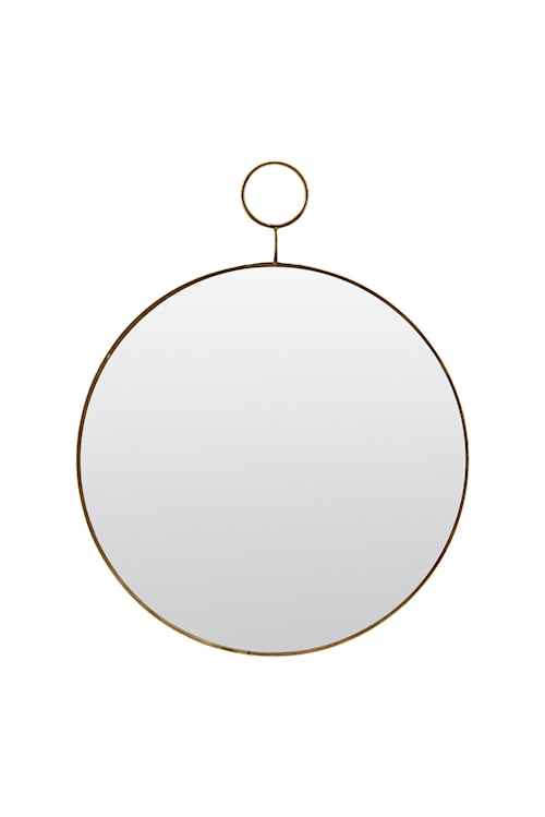 Spegel The Loop Ø 32 cm - Mässing