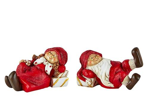 Juldekoration med Ask Polyresin 2-pack Röd