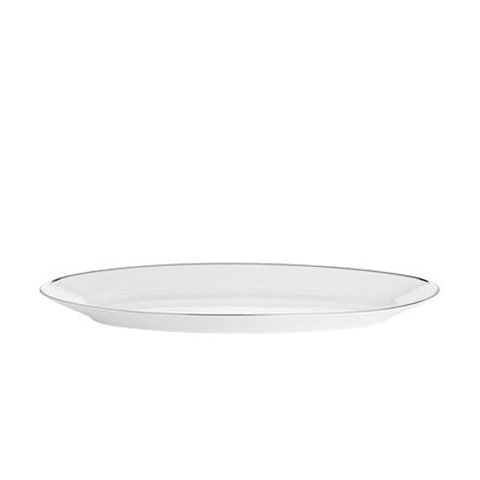 Bistro fiskefat hvit/sølv 45 cm