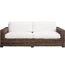 Hudson 3-seter Sofa inkl. pute