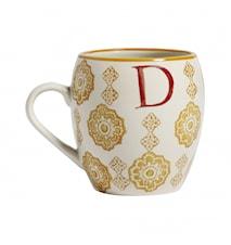 LETTER cup, D