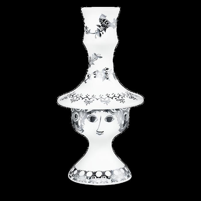 Lysestake, Rosalinde, sølv, 17 cm