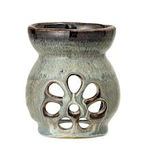 Scent Burner, Grey, Stoneware