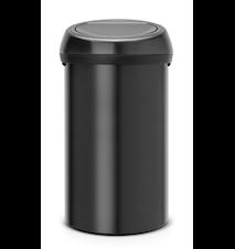 Touch Bin® Matt Svart 60 L