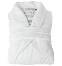 Morgonrock Royal Touch White L