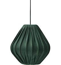 Malou Takskärm Sammet Smaragd 50cm