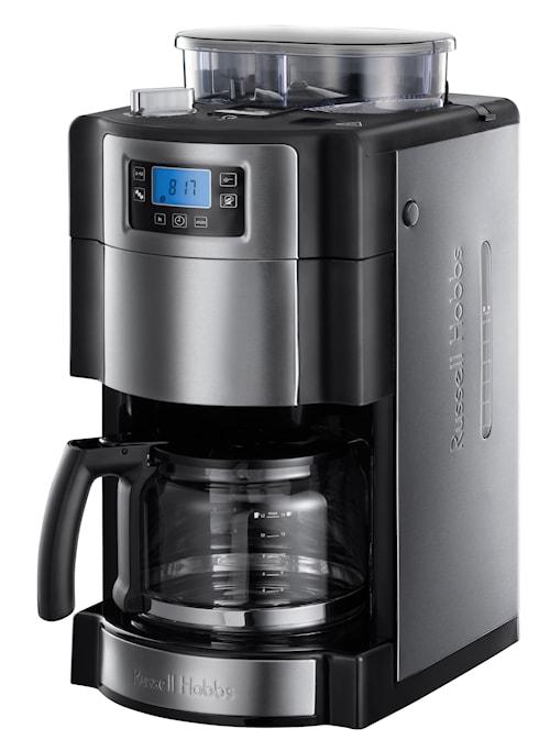 Grind & Brew Kaffemaskin med Kvern og Timer, 10 kopper