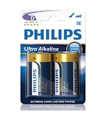 Fashion Ultra Alkaline D LR20 2-pack