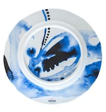 Tallrik flat Juno Ø27,5cm, blå