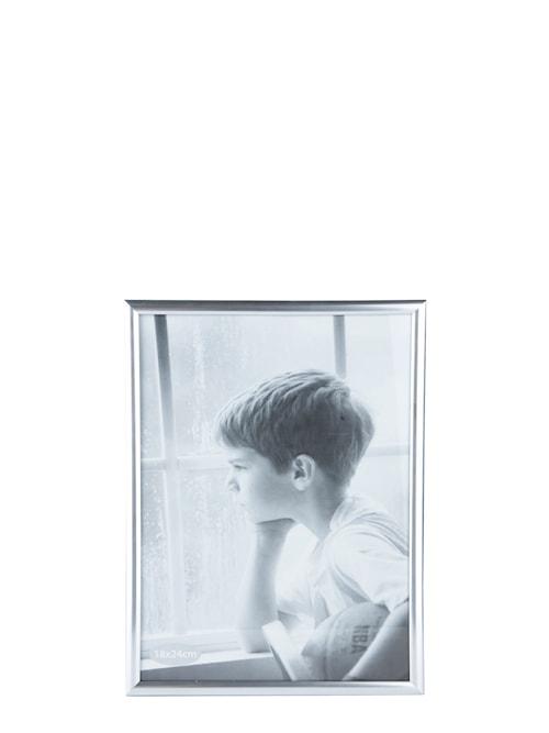 Tavelram Silver/Glas 24x18 cm