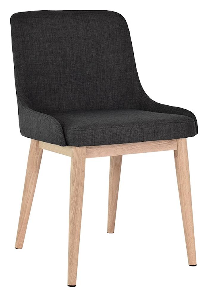Edgar stol 2-pakk - Mørkegrå