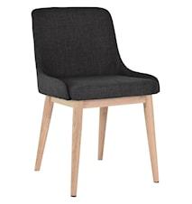 Edgar stol 2-pak - Mørkegrå