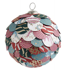 PAPER WASTE ORNAMENT, colourful, large