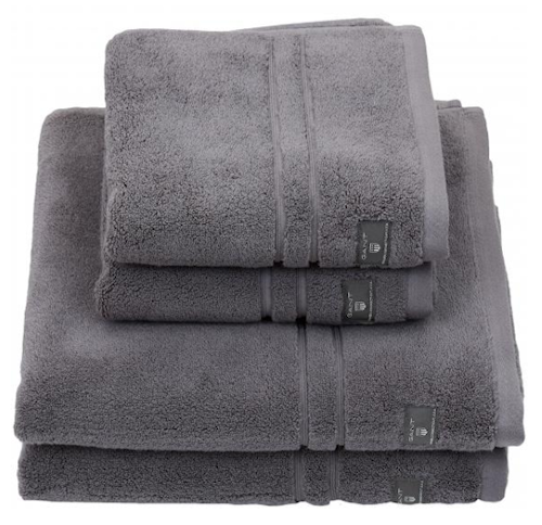 Premium Terry Ansiktshandduk 30X50 Stone Grey