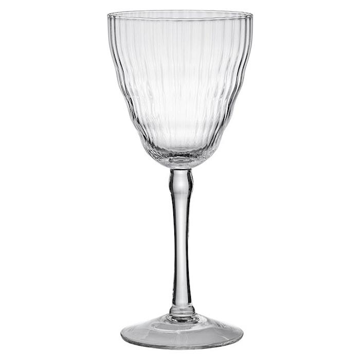Milena Rödvinsglas 9x20 cm