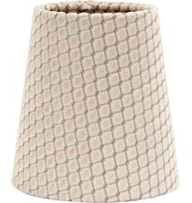 Queen Lampeskærm Ruta Beige 10cm