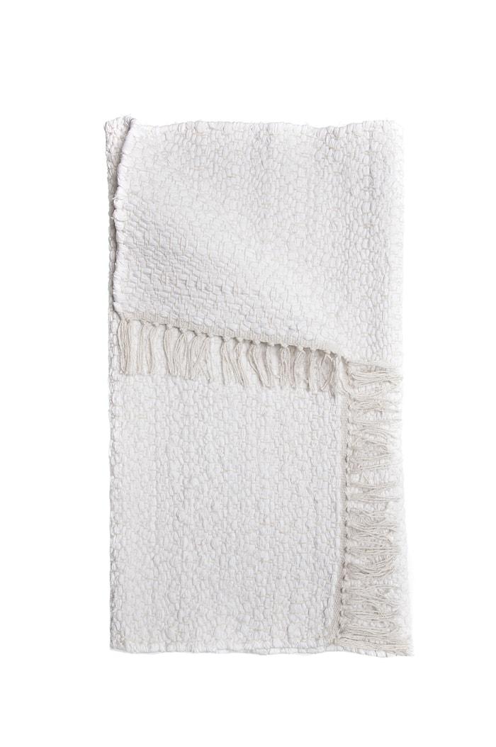 Matta Tvärnö white 70x140