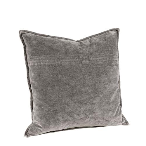 Kelly Plain Kuddfodral 50x50 Grey