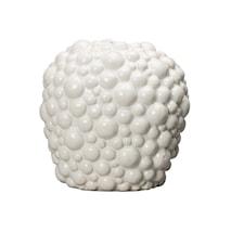 Vase, Celeste, Hvid, h: 26 cm