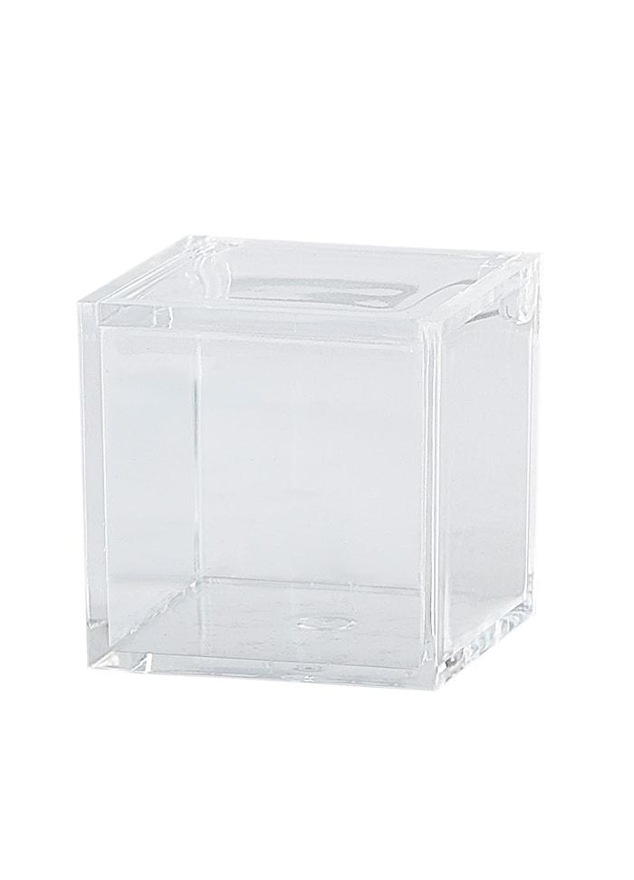 Säilytyslaatikko Kannella PP 5x5x5 cm