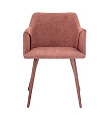 Volo Lounge Chair, Rose, Polyester
