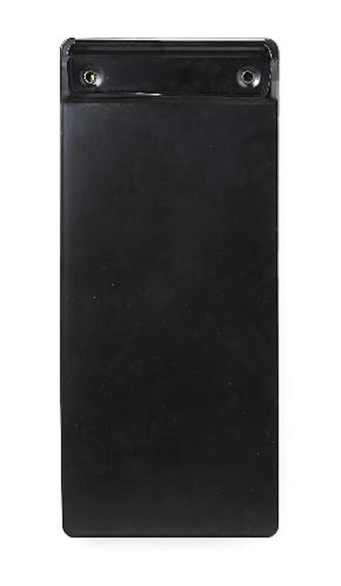 Notblock hållare, svart