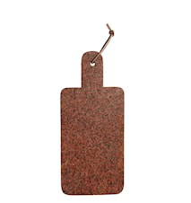 Skärbräda 17,5x40 cm - Röd