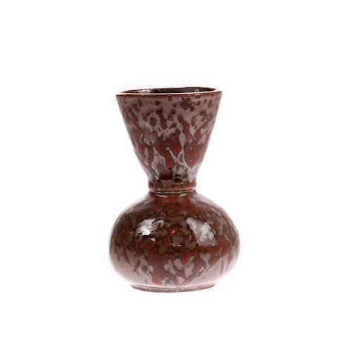 Vas Keramik Röd 12cm