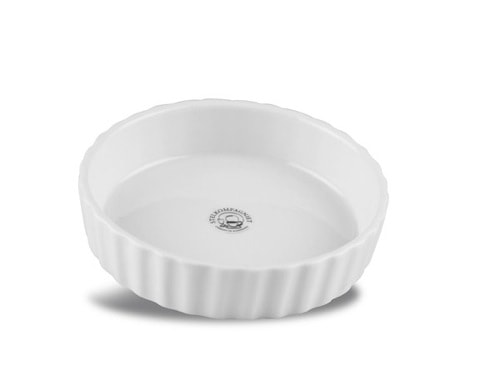 Tærteform Mini 11 cm Hvid
