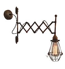 Lonn scissor væglampe