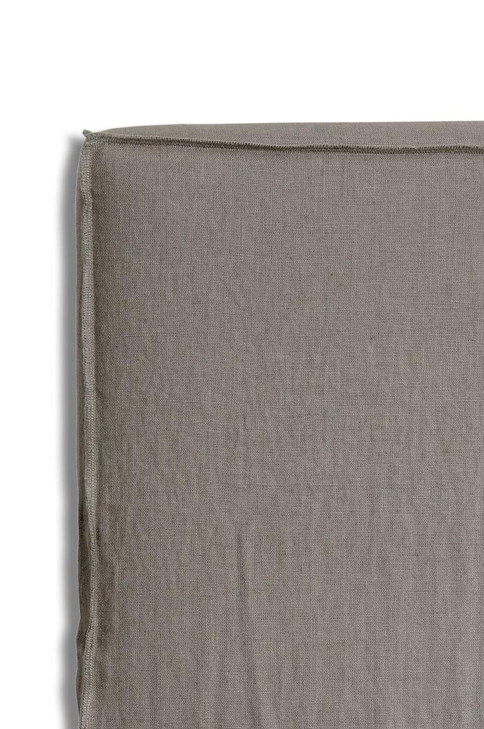 Sänggavelklädsel Mira Loose-fit stone 120x140