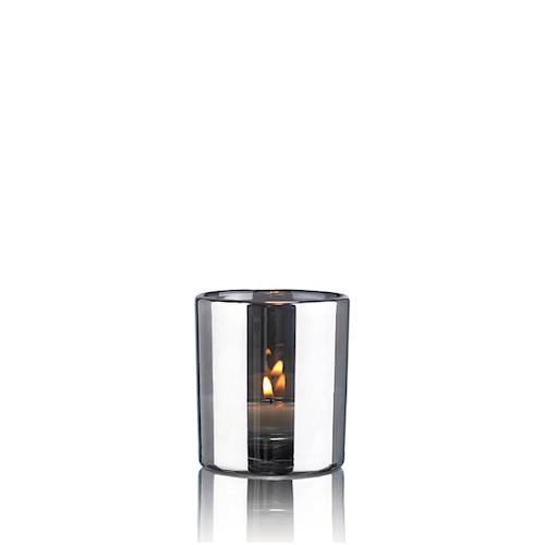 Hurricane lampe sølv - Small