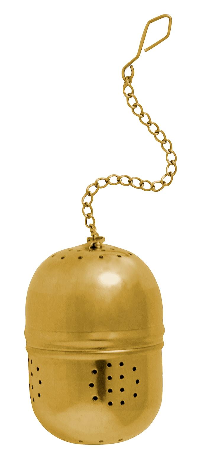Te-kugle Ø 4 cm - Guld
