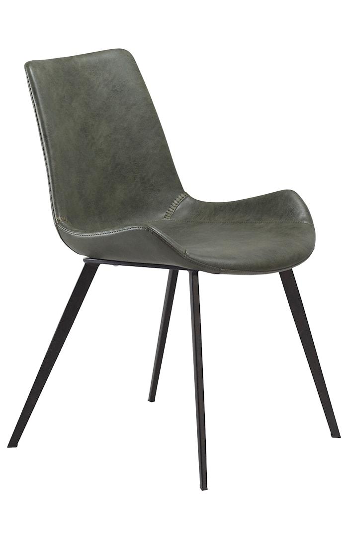 Stol Hype Konstläder - Vintage Grön