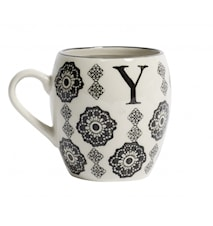LETTER cup, Y, black