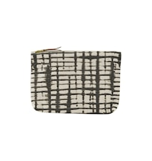 Sminkväska Batik 23x16 cm Offwhite/svart