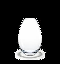 Cocoon Vase, klar, H 20,5 cm