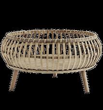 Bricka Bamboo med stativ