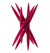 SPICY Knivstativ med 6 stk kjøttkniver Lilla