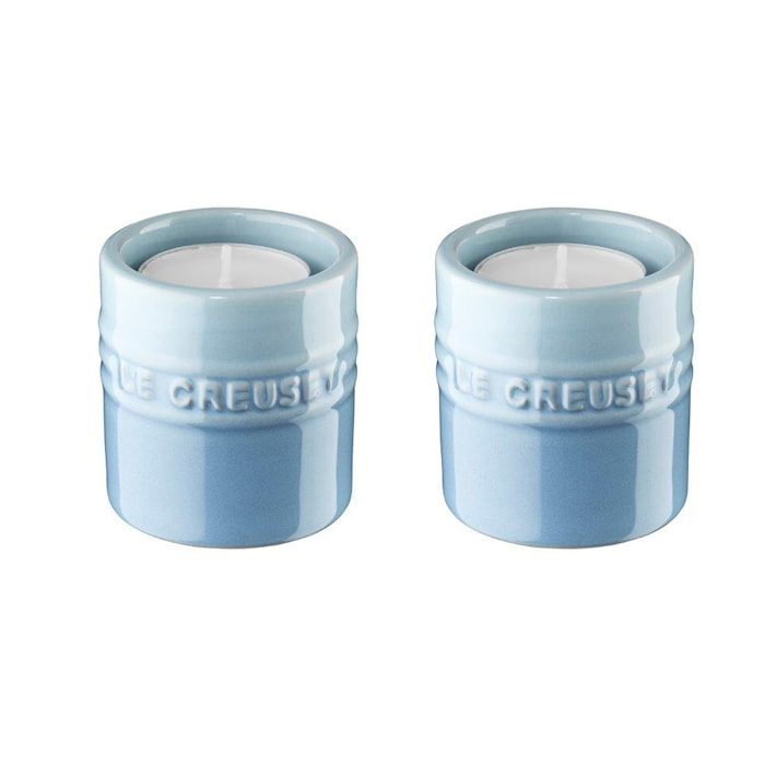 Lysholder, 2-pak, 6 cm - Coastal Blue