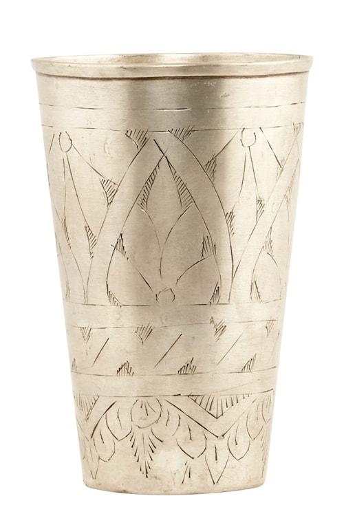 Vas Lassi Ø 8x12 cm - Silver