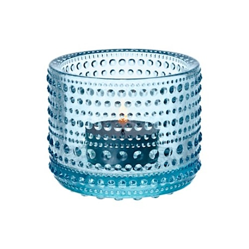 Kastehelmi Ljuslykta 64mm Ljusblå