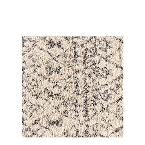 Shaggy Print Matta 185x280 offwhite/taupe