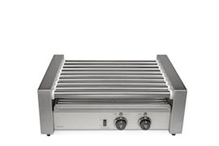 Roller grill med 9 rullar