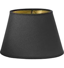 Lampskärm Oval Guld